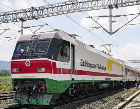 Rolling Stock on the Chinese-built and funded Ethiopia-Djibouti electric rail line begins commercial operations.