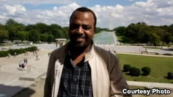 Ethiopan blogger Seyoum Teshome is seen in an undatd photo.