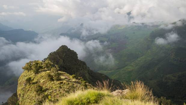 "Simien Mountains: ""one of the world's most spectacular landscapes""."