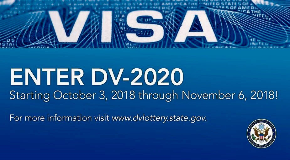 Dv Lottery 2020 registration