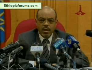 Meles Zenawi press conference after the 2010 election