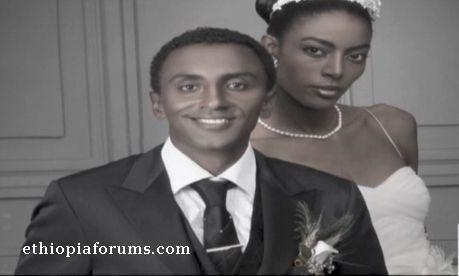 Marcus Samuelsson and his wife, Ethiopian model Maya Haile
