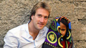 Ben fogle and mestikima outside her home in addis ababa