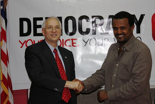 Yared_Shumete_ with_ U.S._Ambassador_to_Ethiopia
