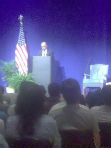 Meles zenawi at Columbia university