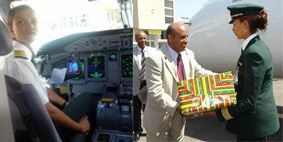 Ethiopian first female captain Amsale Gualu Endegnanew