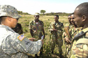 US army operation on somalia with a help of Ethiopian soldiers