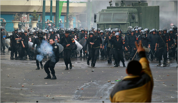 Egypt-police-clash-with-protesters