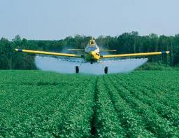 Ethiopian pesticide spray aircraft