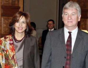 Mrs. Marla Pietton, wife of the French ambassador was one of the victims of the crash