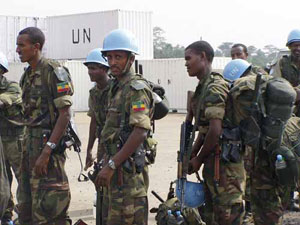 Ethiopian peacekeepers killed in South sudan