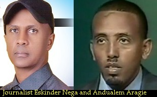 Eskinder-Nega-and-Andualem-Aragie-arrested