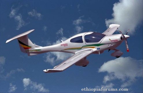 Ethiopian Airlines DA40NG