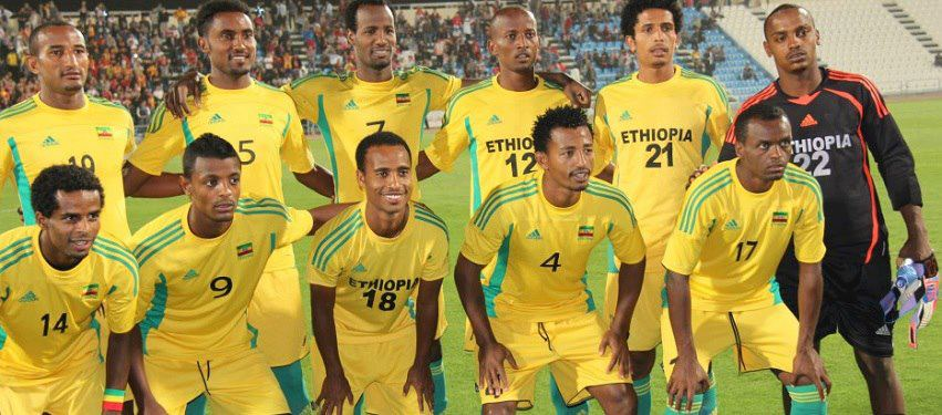 Ethiopian Team for African cup 2013