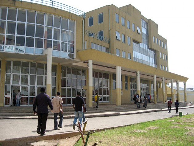 Addis Ababa University. (Michael Accorsi/UConn Photo)