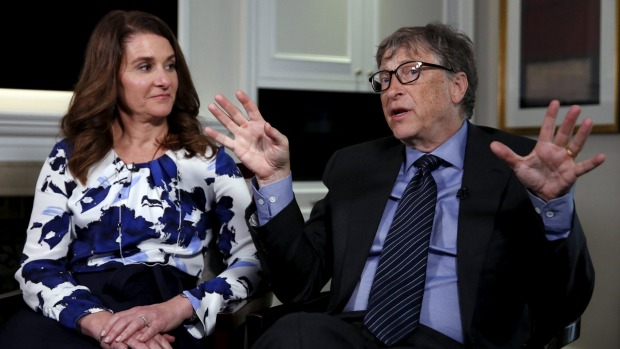 Bill and Melinda Gates' foundation has a $55 billion endowment which is put to work around the developing world.