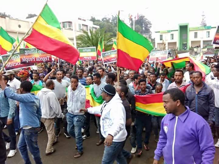 Gonder Protest AmharaProtest