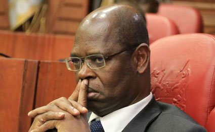 Philip Kinisu, who on August 31, 2016 resigned as the chairman of the Ethics and Anti-Corruption Commission.