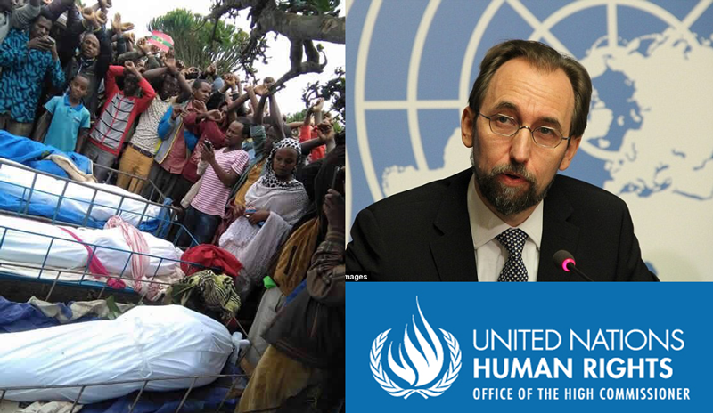 The U.N. human rights chief urged Ethiopia on Wednesday to allow international observers