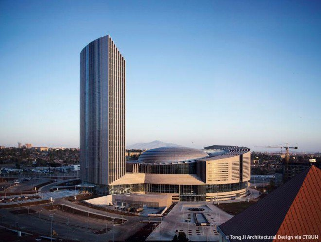 HEADQUARTERS of the 54-nation African Union