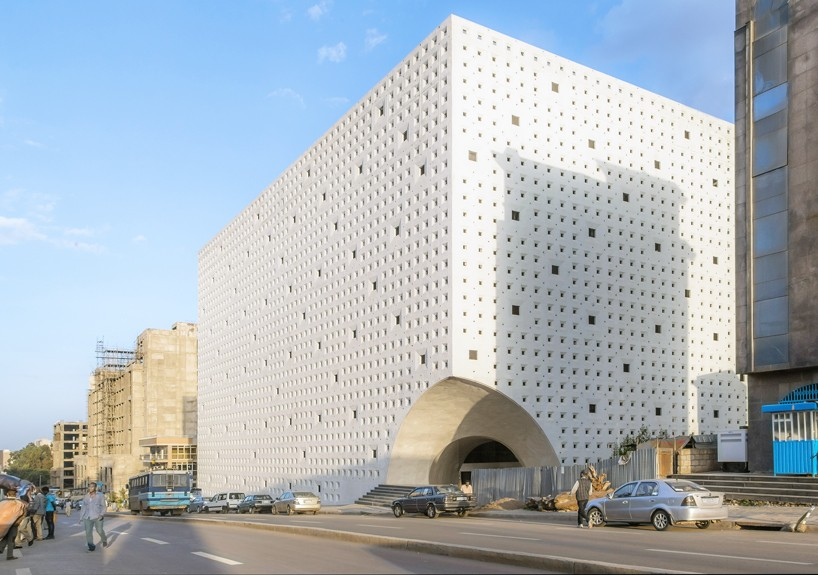 VILALTA completes mall in ethiopia with perforated envelope