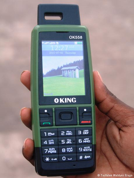 Mobile phone made by King OK558