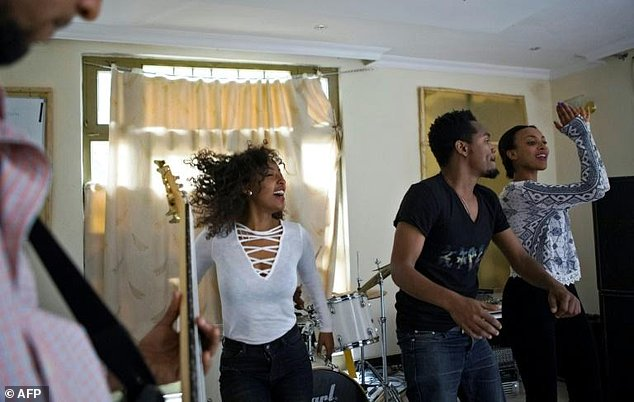 The Jano band -- a rare rock band in Ethiopia -- has been playing locally and touring in Europe for the past five years
