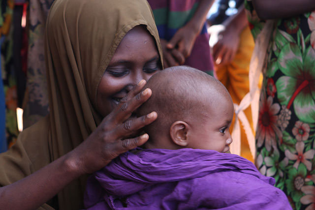 Women encountered in the refugee camps around Dolo Odo said that though children weren't getting as much food as they would like, they were relatively healthy. (Photo: James Jeffrey / IPS)