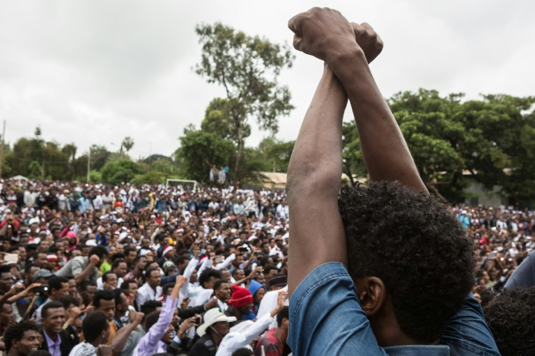 The Oromos have been staging protests over government policies they fear would deprive them of their lands