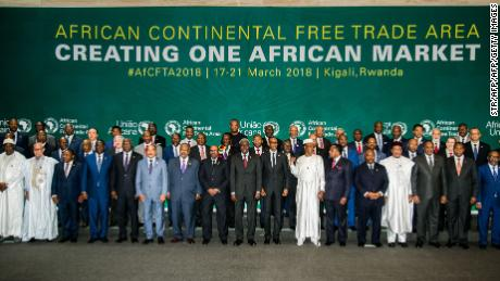 44 African countries agree free trade agreement, Nigeria yet to sign