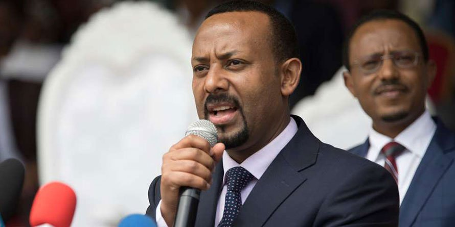 Ethiopia's new Prime Minister Abiy Ahmed. AFP PHOTO | Zacharias Abubeker
