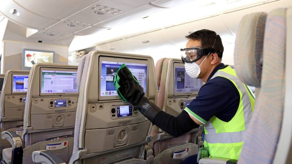 Airbus cleaning - reuters
